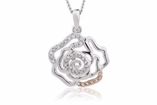 Sølvsmykke Royal Roses® Topaz - 3SRORP3