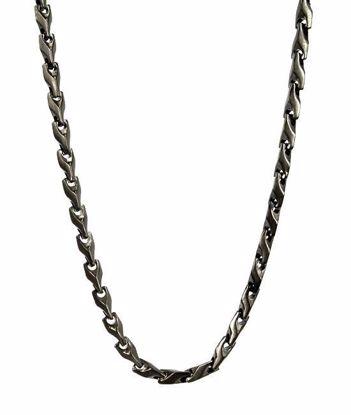 Herrekjede MADOX i stål 56cm/6cm - 520625