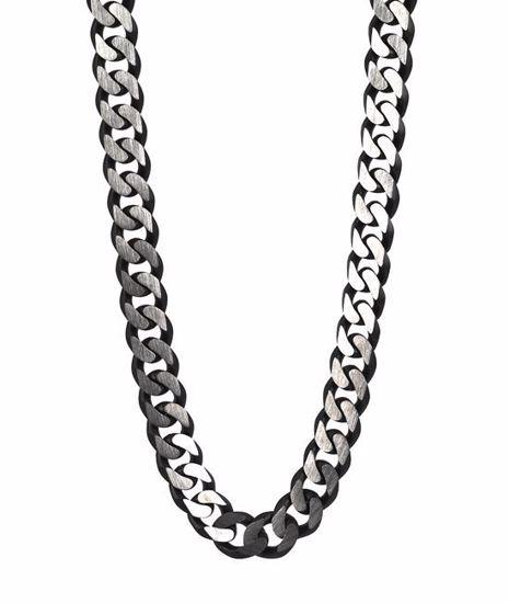 Herrekjede TEXAS i stål 52cm - 520628