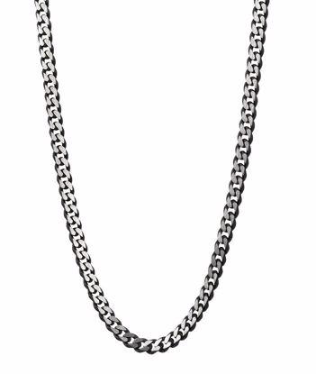 Herrekjede TEXAS i stål 56cm - 520630