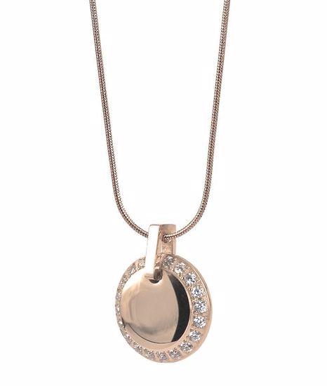 Smykke i forgylt stål CORINNE Short - 10582814