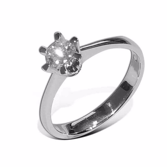 Diamantring Gia med 0,40 ct W-SI - 201120