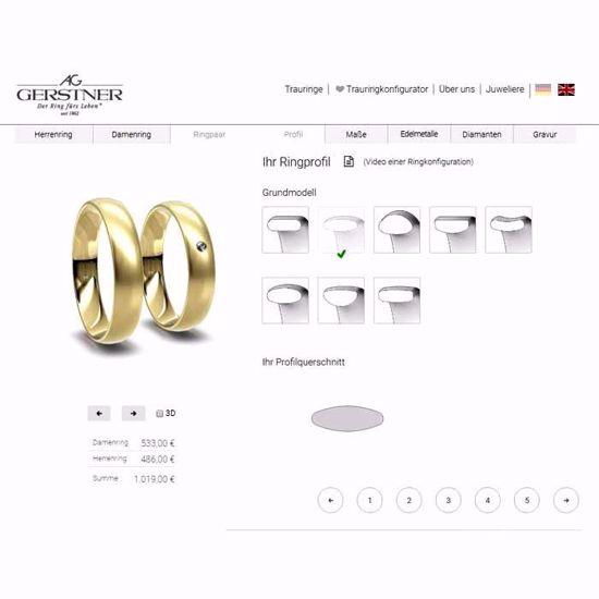 Ringdesigner.Ditt eget design. GERSTNER