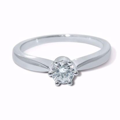 Diamantring  med 0,30 ct W-P1 - COC009870