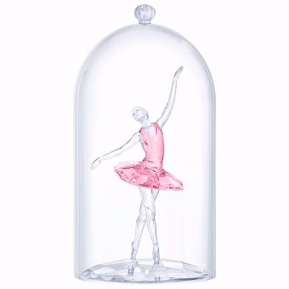 Swarovski figurer Ballerina under Bell jar - 5428649