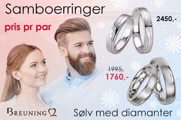 gifteringer i sølv