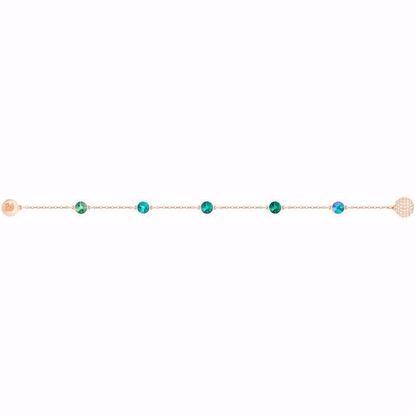 Swarovski armbånd. Green Strand - 5412326