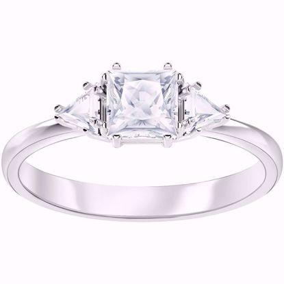 Swarovski ring. Attract Trilogy - 5412031