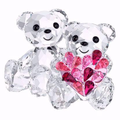 Swarovski figurer. Kris Bear - In love - 5004526