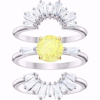 Swarovski ring Set Sunshine - 5459595