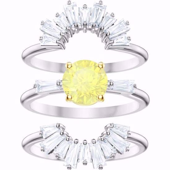 Swarovski ring Set Sunshine - 5459595