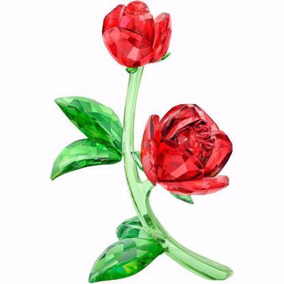 Swarovski figurer. Red Rose - 5424466