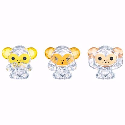 Swarovski figurer. Three Wise Monkeys - 5428005