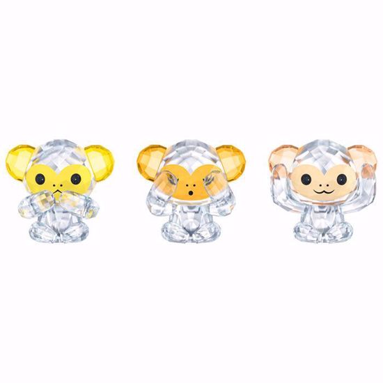 Swarovski figurer. Three Wise Monkeys - 5428005