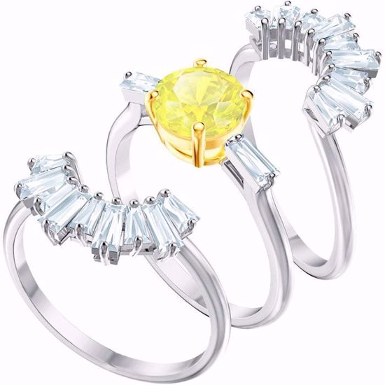 Swarovski ring. Sunshine set - 5482498