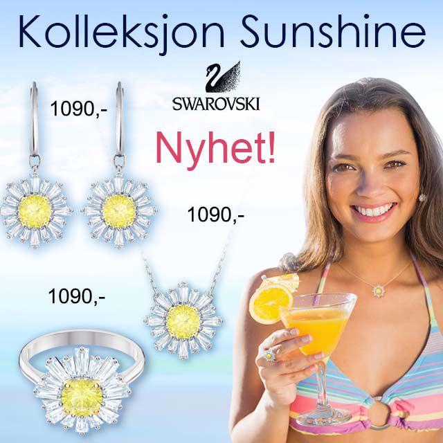 Swarovski smykker Sunshine
