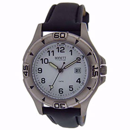 Bonett klokke. Titanium - 1448H