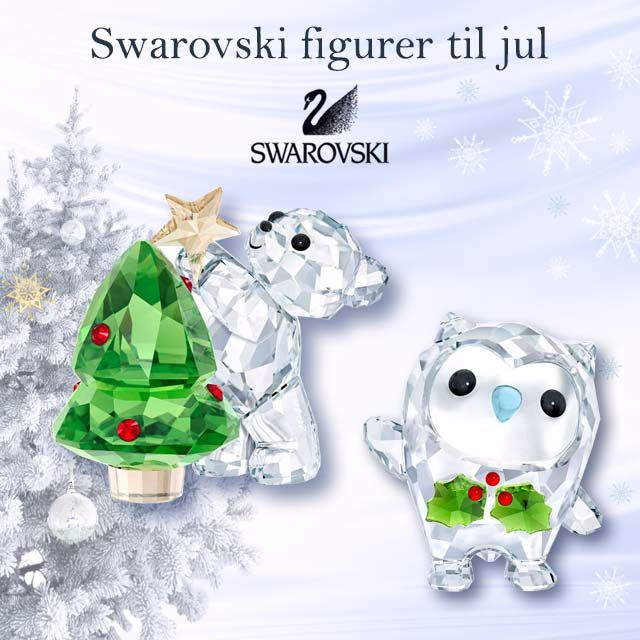 swarivski figurer  TIL JUL