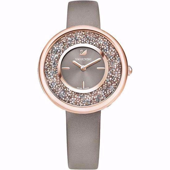 6056bbec Swarovski klokke Crystalline Pure Leather - 5416704