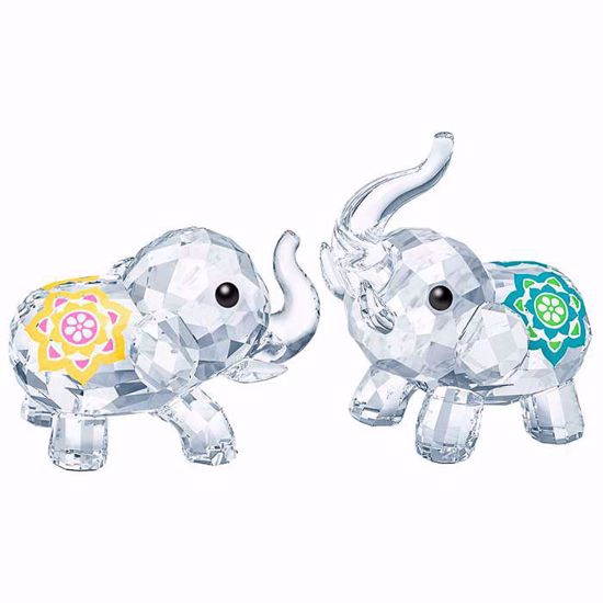 Swarovski figurer. Lucky elephants - 5428004