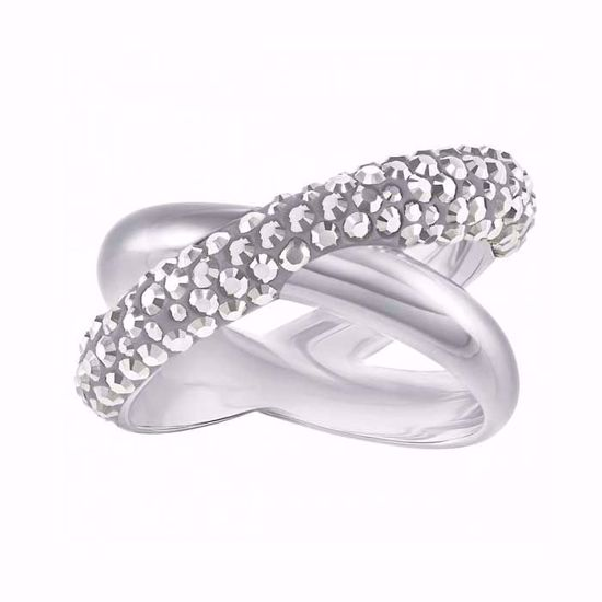 Swarovski ring Crystaldust Cross - 5372898