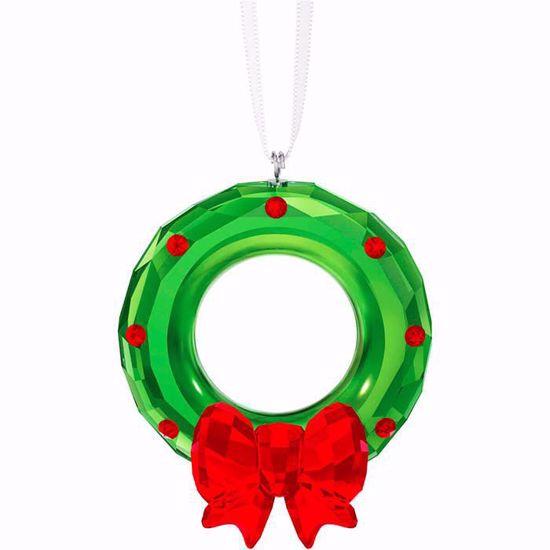 Swarovski figurer. Christmas Wreath Ornament - 5223687