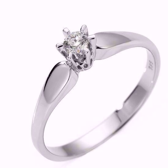 Diamantring forlovelsesring Sofia 0,28ct W/SI -120728