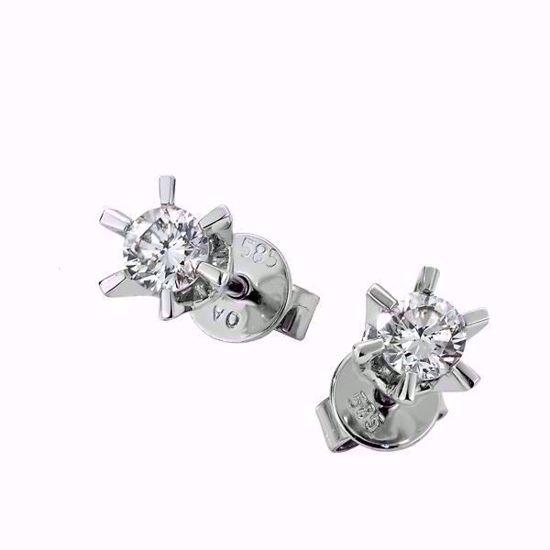 Sofia diamant øredobber med  2/0,44 ct W-Si-2120744