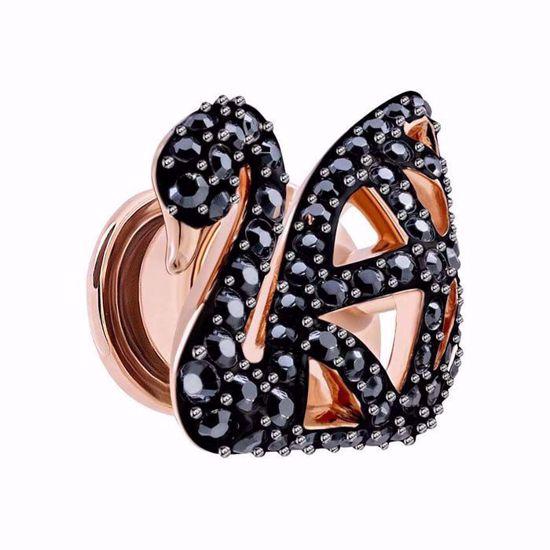 Swarovski smykke Facet Swan Tack Pin - 5439870