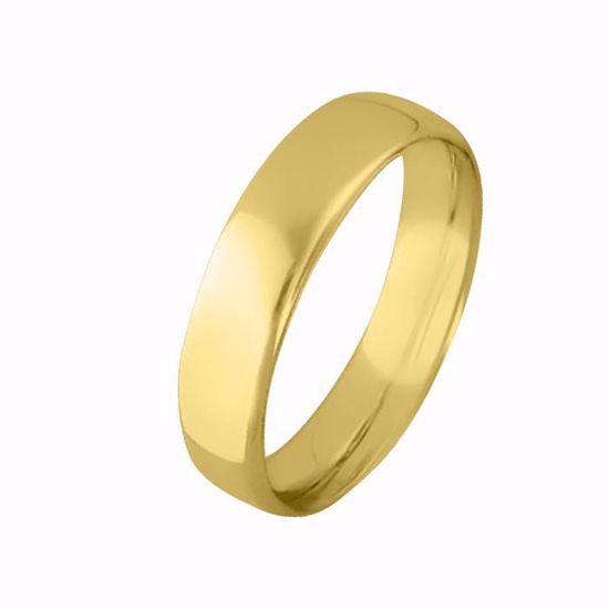 Giftering til herre i gult gull 14kt, 5 mm. OREST modell 803 - 803050