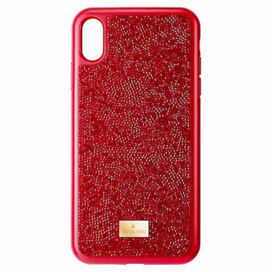 Swarovski Iphone XS Max deksel Glam Rock, red - 5481454