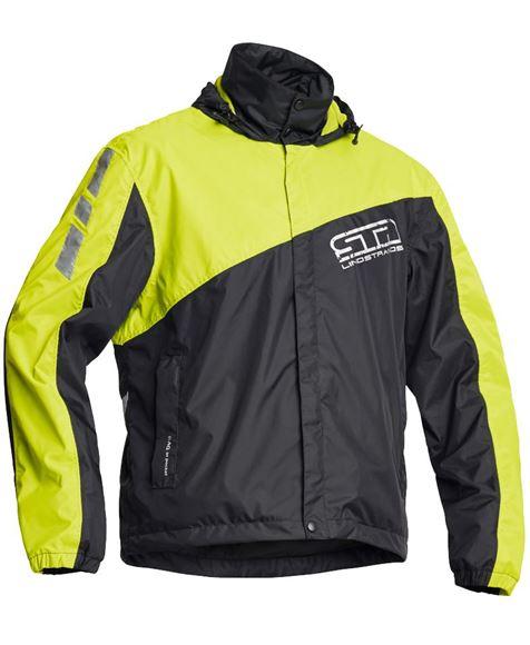 db419988 WP Jacket - regnjakke Lindstrands Svart/Gul * - Høy puls - Hjelmer ...