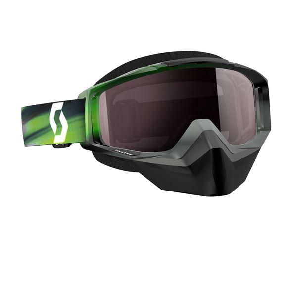 Bilde av Scott Tyrant SX snow cross goggle Briller - Grå/Grønn*