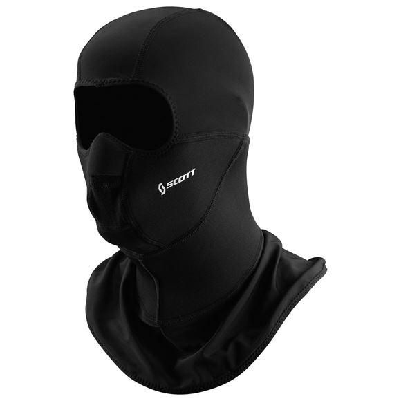 Bilde av Scott Face Heater Ansiktsmaske/hette - Sort *