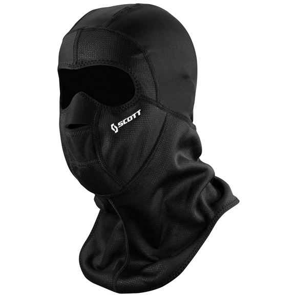 Bilde av Scott Wind Warrior hood Ansiktsmaske - Sort *
