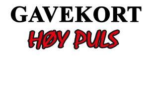 Bilde for kategori Gavekort  - gavetips Høy Puls