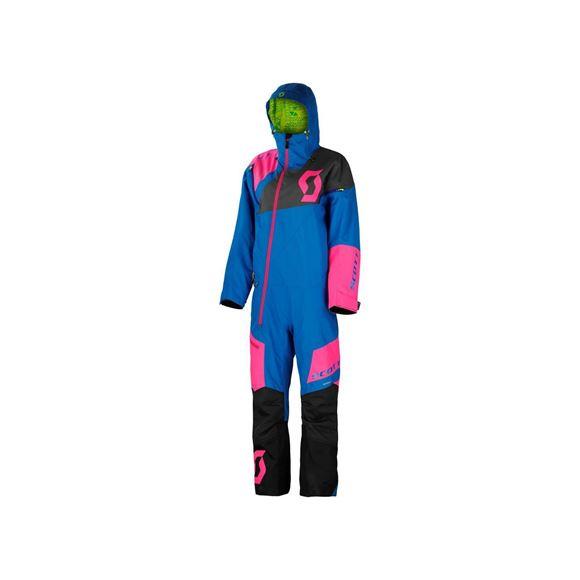 f2f5fb2d Heldress snøscooter Scott Monosuit DS Dame - Blå/rosa x - Høy puls -  Hjelmer, Snøscooterklær, Snøscooterutstyr, Mc klær