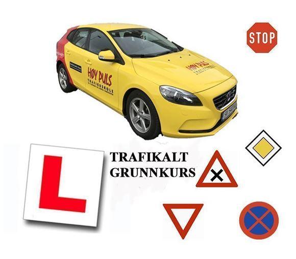 Bilde av 1. oktober inkl. 1 gratistime Bil + TGK kl 1600 inkl førstehjelp og videoundervisning