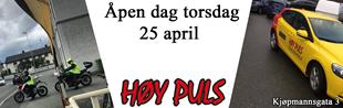 Bilde for kategori ÅPEN DAG HØY PULS 25. APRIL 2019.