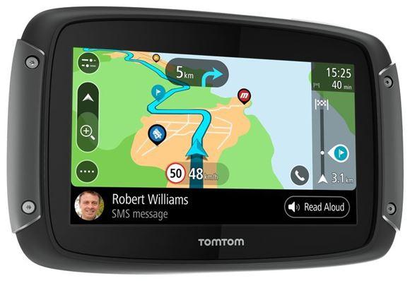 Bilde av TomTom RIDER 550 World (EMEA) GPS for MC/Bil/Snøscooter z