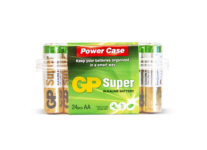 BATTERI GP SUPER 1,5V AA 24-PK