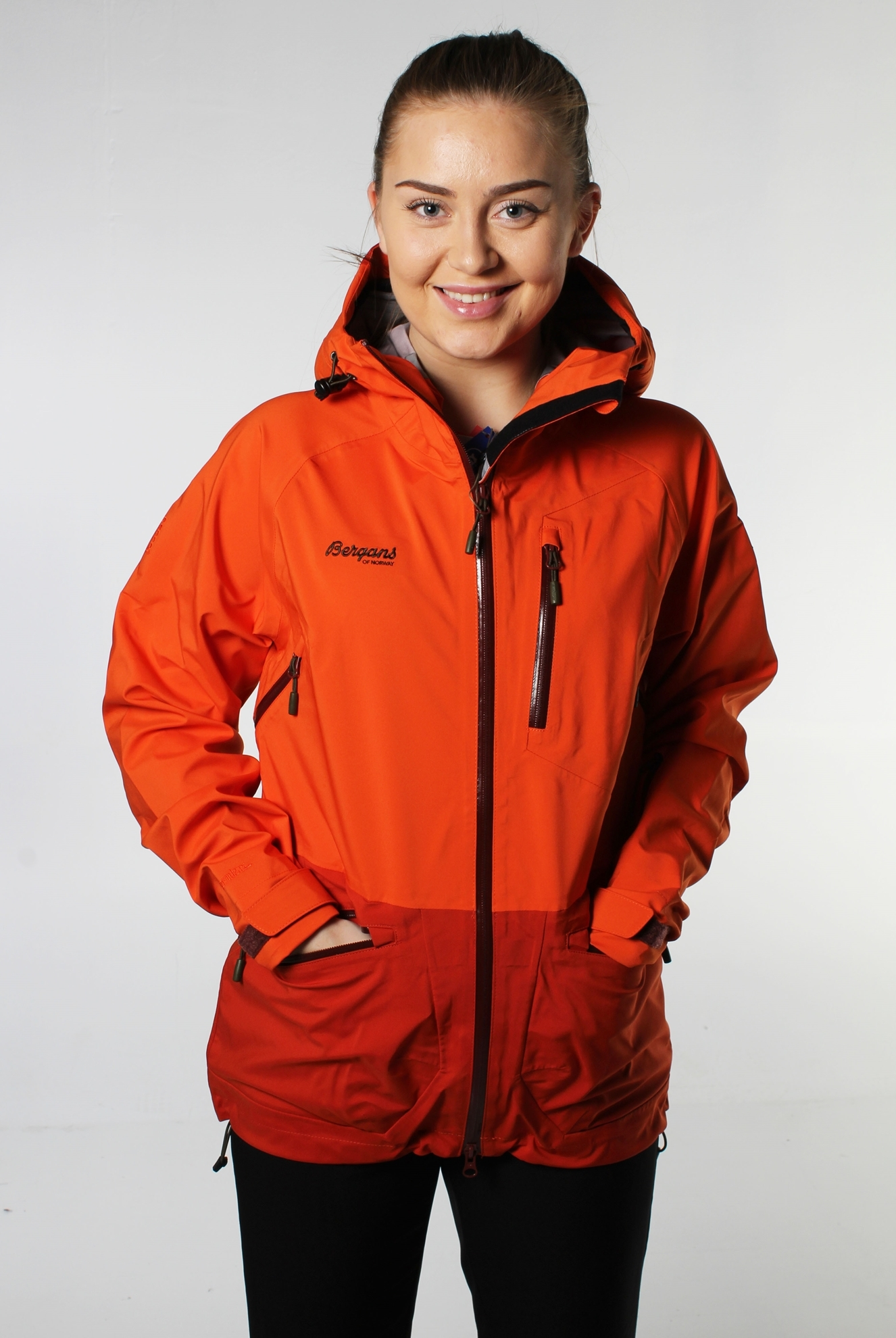 Helt nye Bergans Myrkdalen Lady Jacket Orange- Nava Sport - Vi selger klær DK-21
