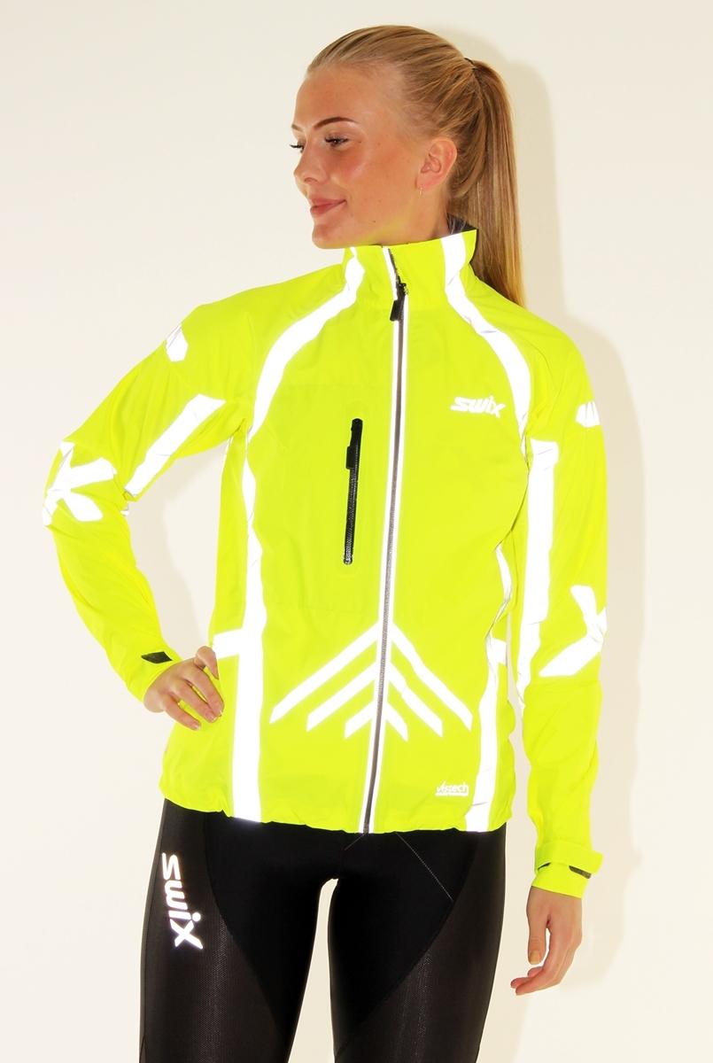 Alle nye Swix Vistech RaceX Elements jkt. Womens Yellow- Nava Sport - Vi HY-08