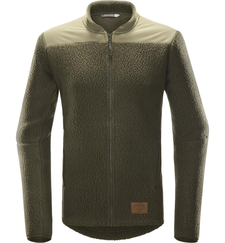 fe51b283 Haglöfs PILE JACKET MEN deep wood- Nava Sport - Vi selger klær og ...