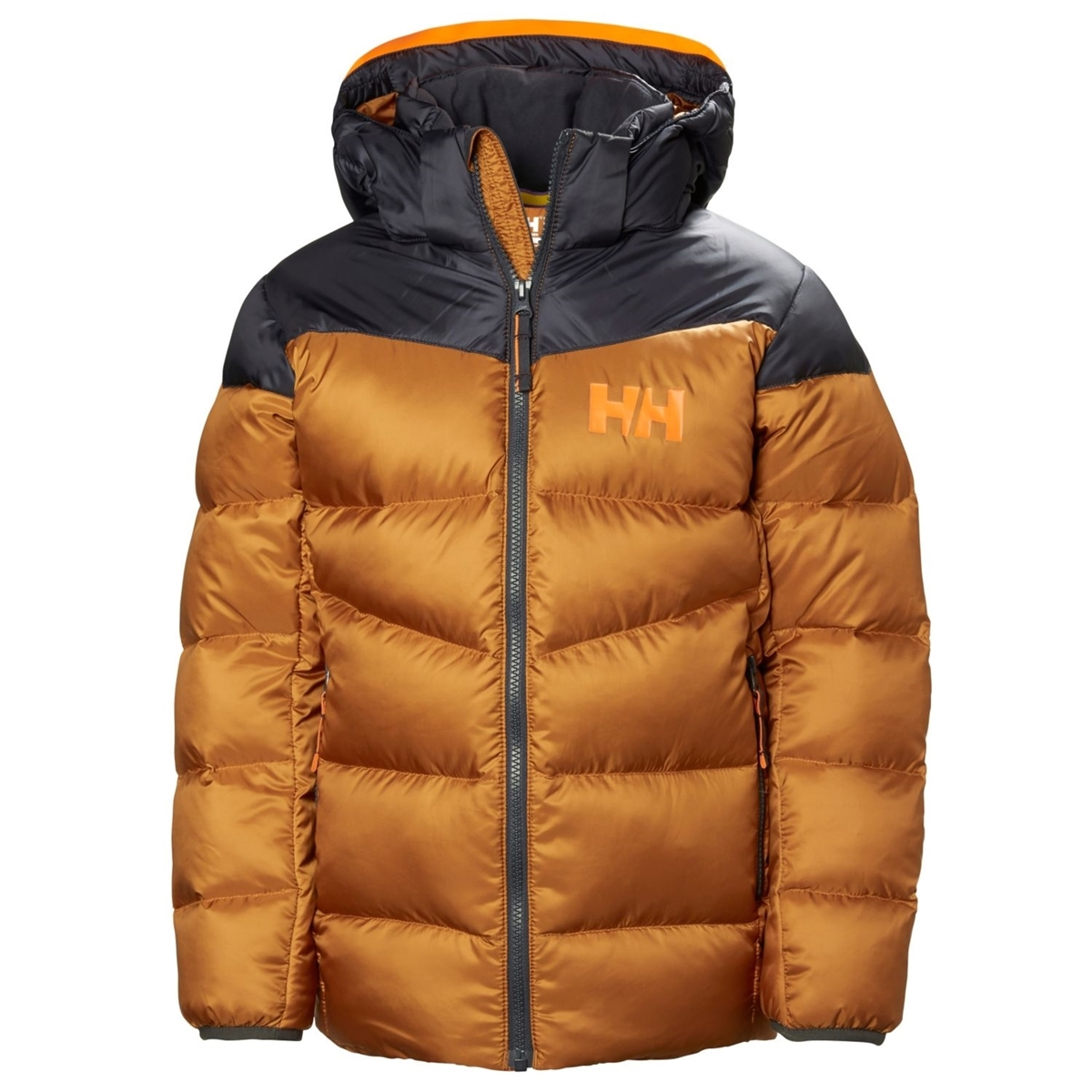 8380b2c1 Helly Hansen JR ISFJORD DOWN MIX JACKET Cinnamon- Nava Sport - Vi ...