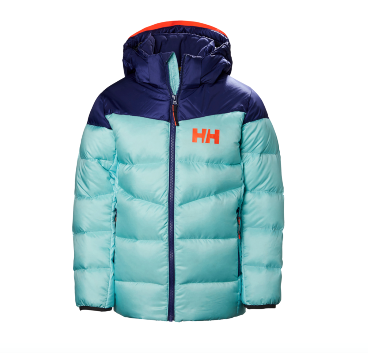 a40558d7 Helly Hansen JUNIOR ISFJORD DOWN MIX JACKET Glacier- Nava Sport - Vi ...