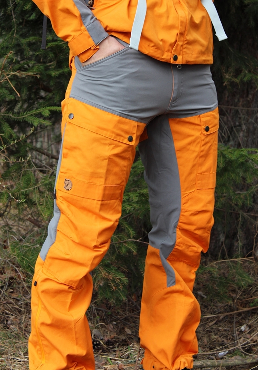 79c251af Fjällräven Keb Trousers Regular seashell orange-grey- Nava Sport ...