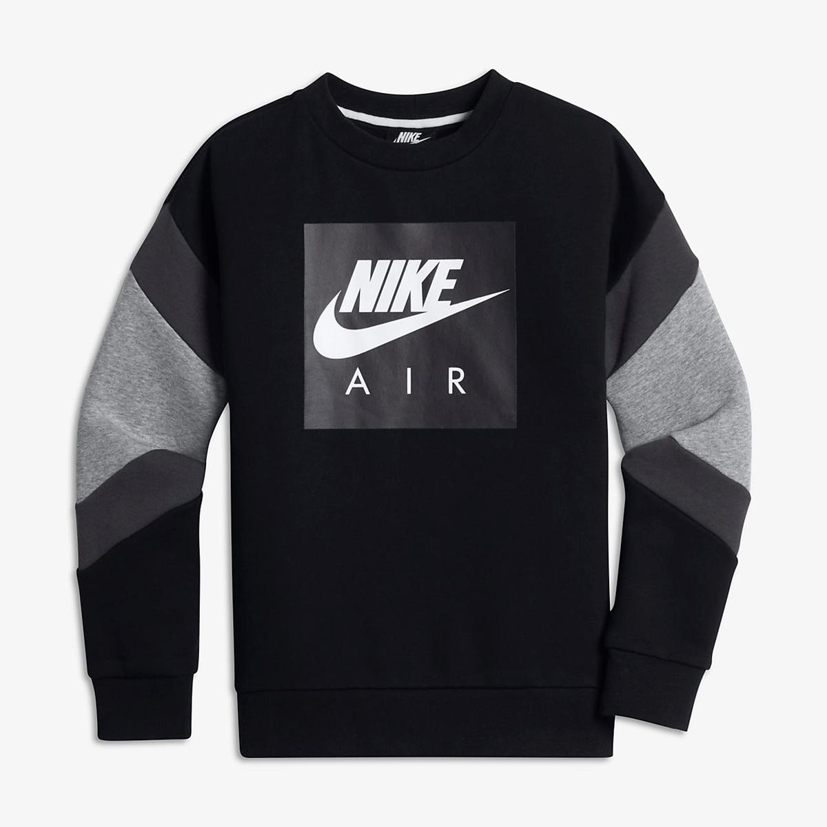 Bilde av Nike JUNIOR AIR CREW AJ0114-010