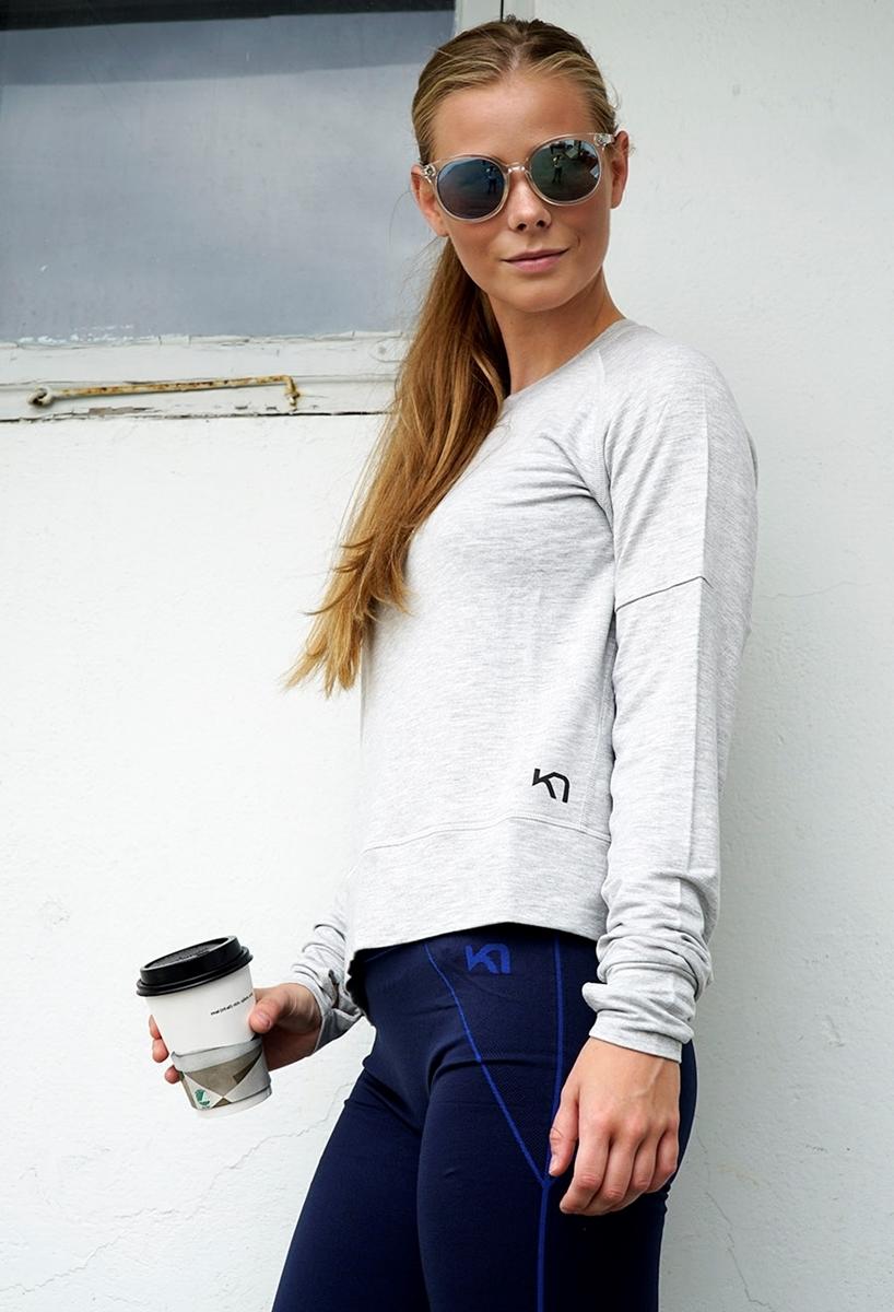 c3a5553f Kari Traa LIN LS GreyM- Nava Sport - Vi selger klær og sko fra ...