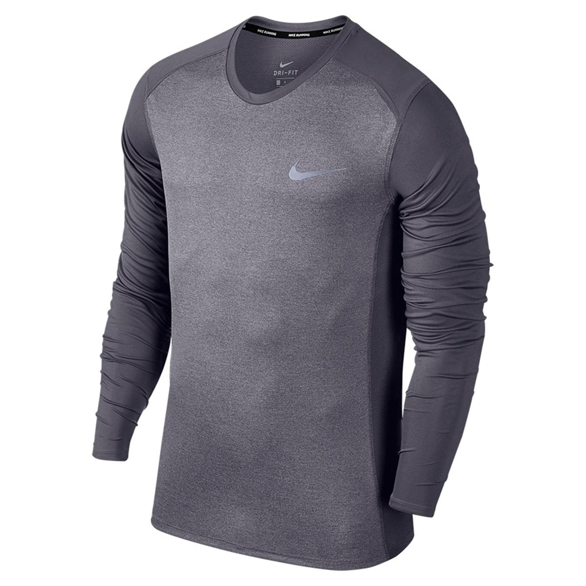 Bilde av Nike  M NK MILER TOP LS 833593-081